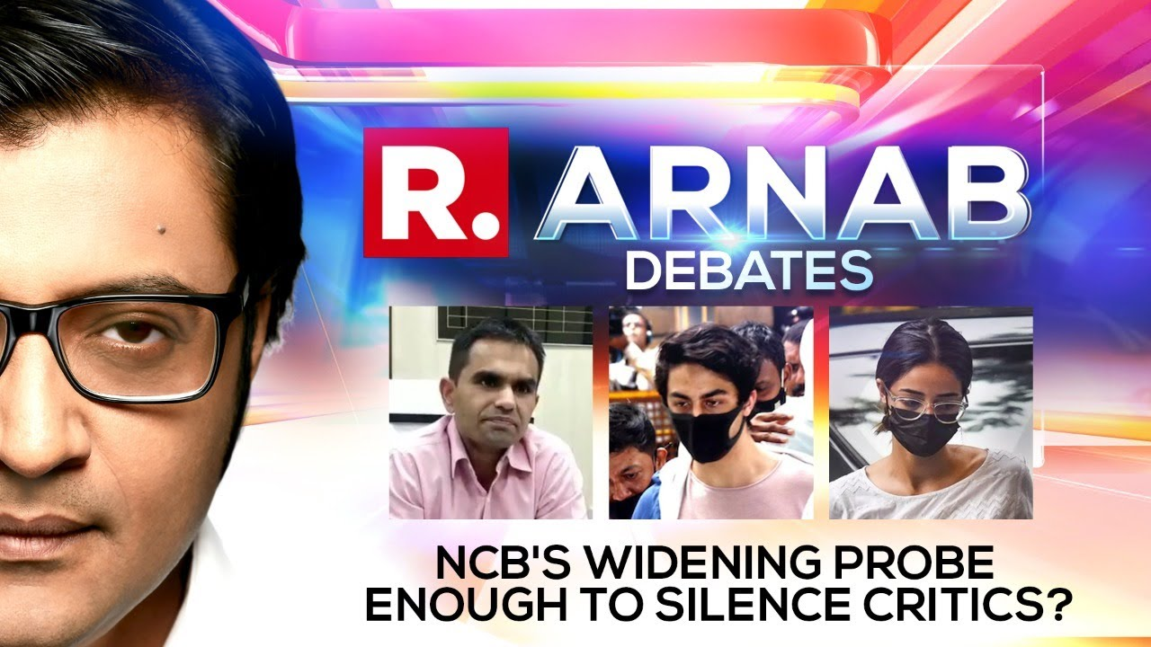 Download NCB Goes All-Out Against Drugs But Will Crackdown Silence Critics? | Arnab Debates