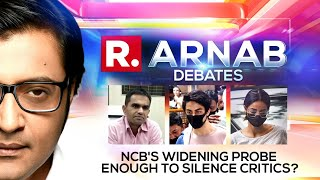 NCB Goes All-Out Against Drugs But Will Crackdown Silence Critics?   Arnab Debates