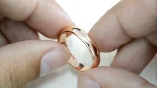 Обручальное кольцо из медицинского золота WomenCity