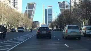 MADRID, PASEO DE LA CASTELLANA - AEROPUERTO, T4