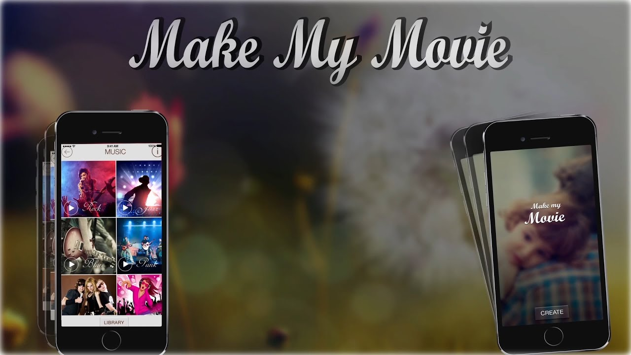 makemymovie free movie maker app to create photo slideshow on ios and android device youtube