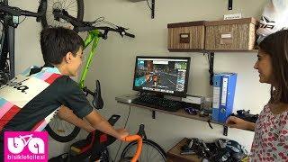 Gambar cover Bisiklet Trainerları ve Zwift Yazılımı