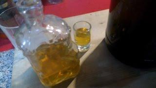кальвадос из яблочного жмыха , продукта переработки яблочного сока