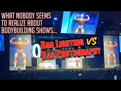 Why bodybuilding stage lighting is only half the picture...