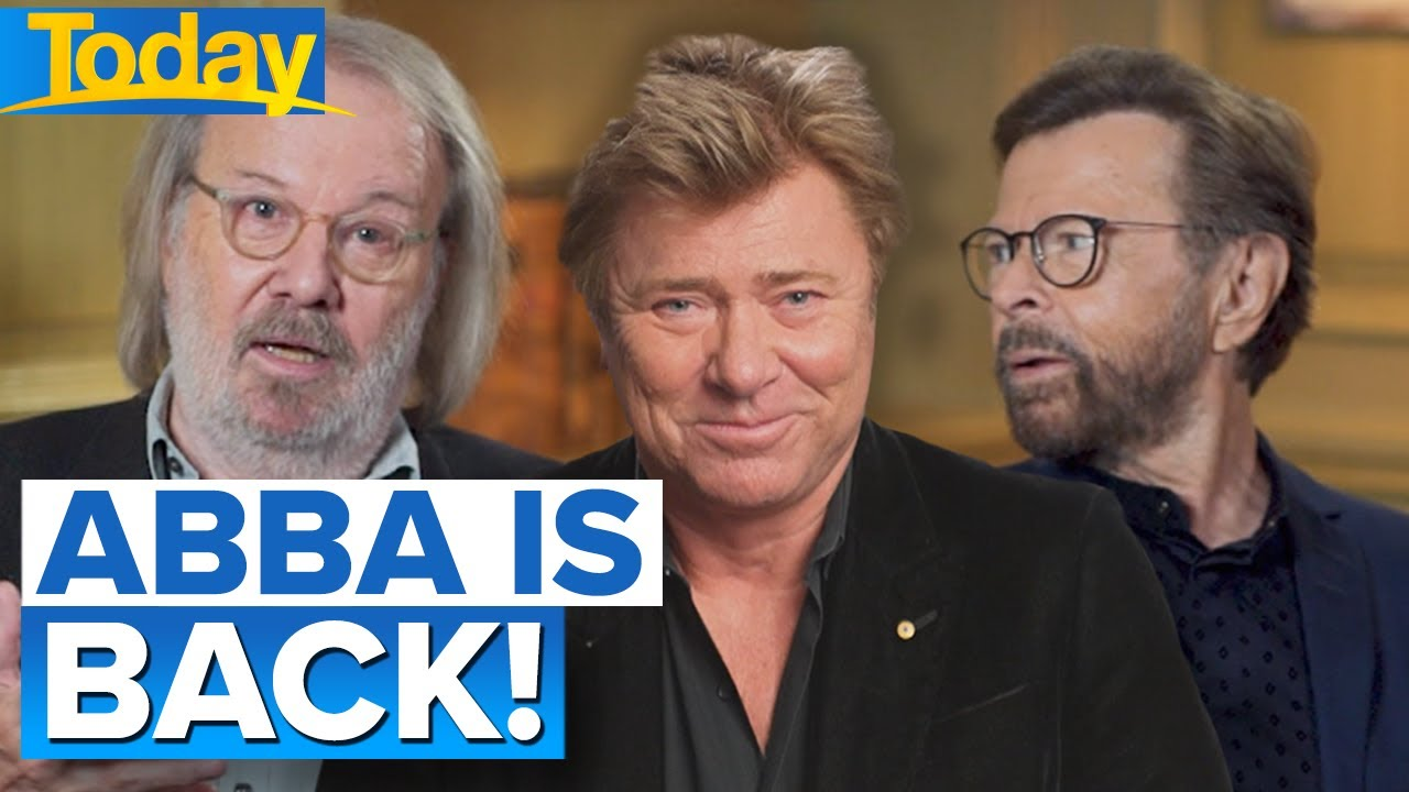 Sneak peek into ABBA's new album and concert   Today Show Australia