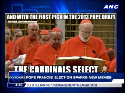 Election of Pope Francis sparks new memes