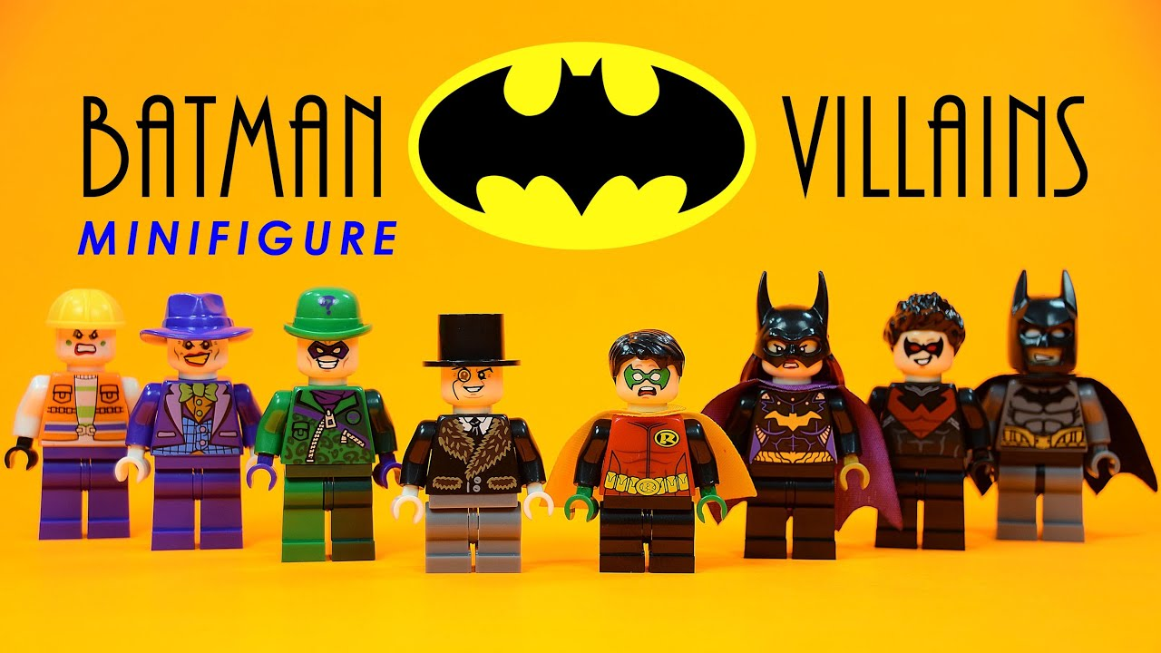 Lego Batman Heroes Vs Villains Knockoff Minifigures W