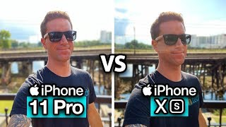 iPhone 11 Pro vs XS - CAMERA Test Comparison!