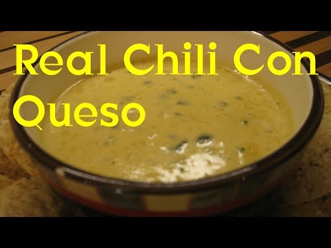 Real Chili Con Queso Recipe Tutorial S3 Ep310