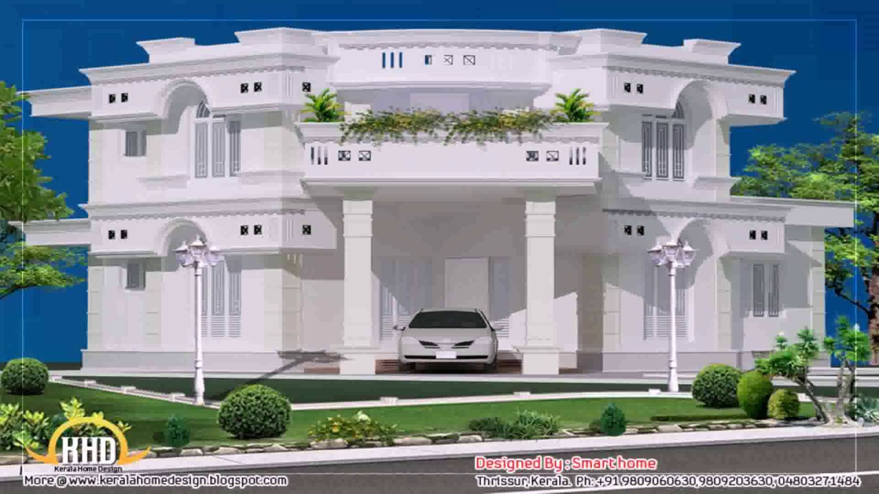 House Designs Floor Plans Duplex - YouTube