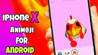 Get iPhone X Animoji for any Android! Without Root 🔥🔥