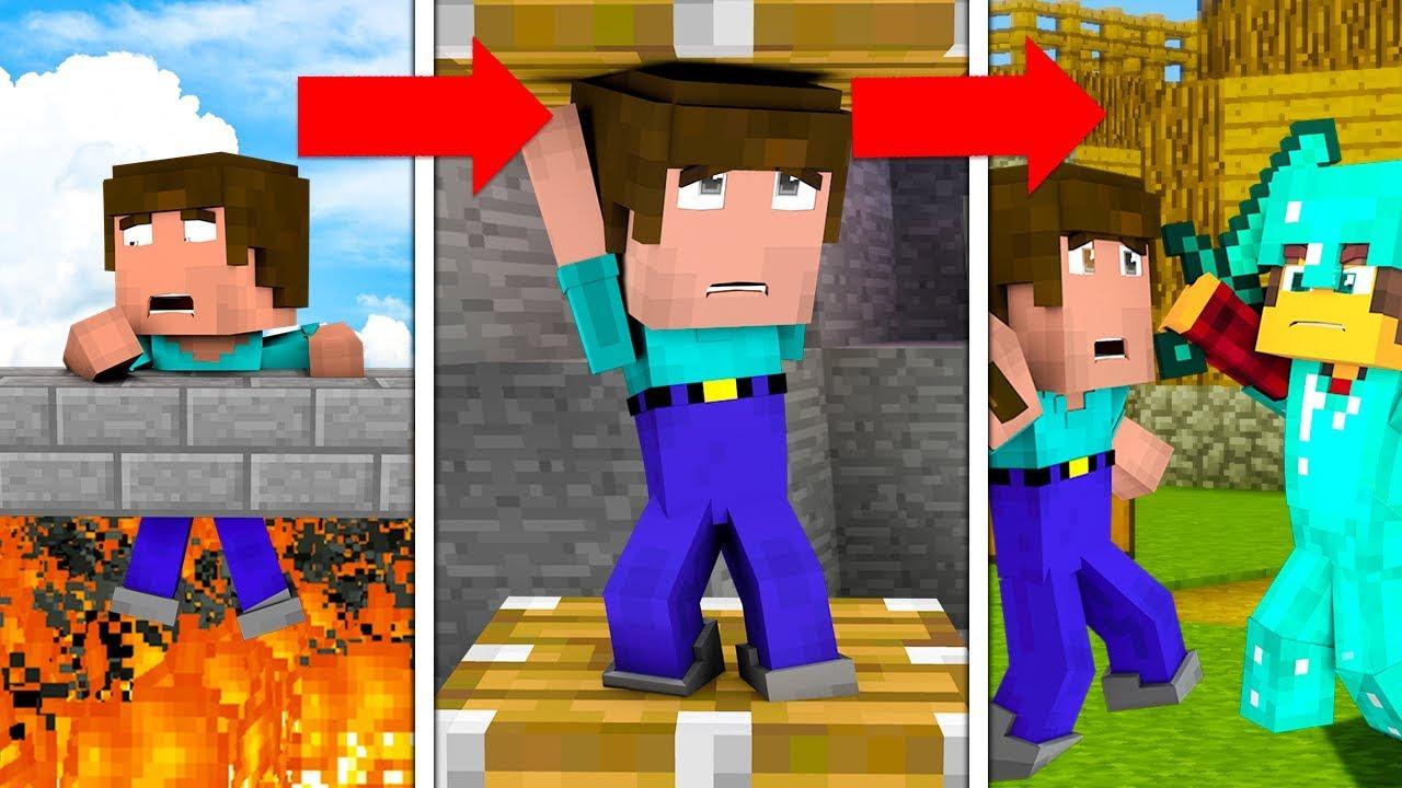 10 SPOSOBÓW NA TORTURY NOOBA!!!! – Minecraft Doświadczenie #2