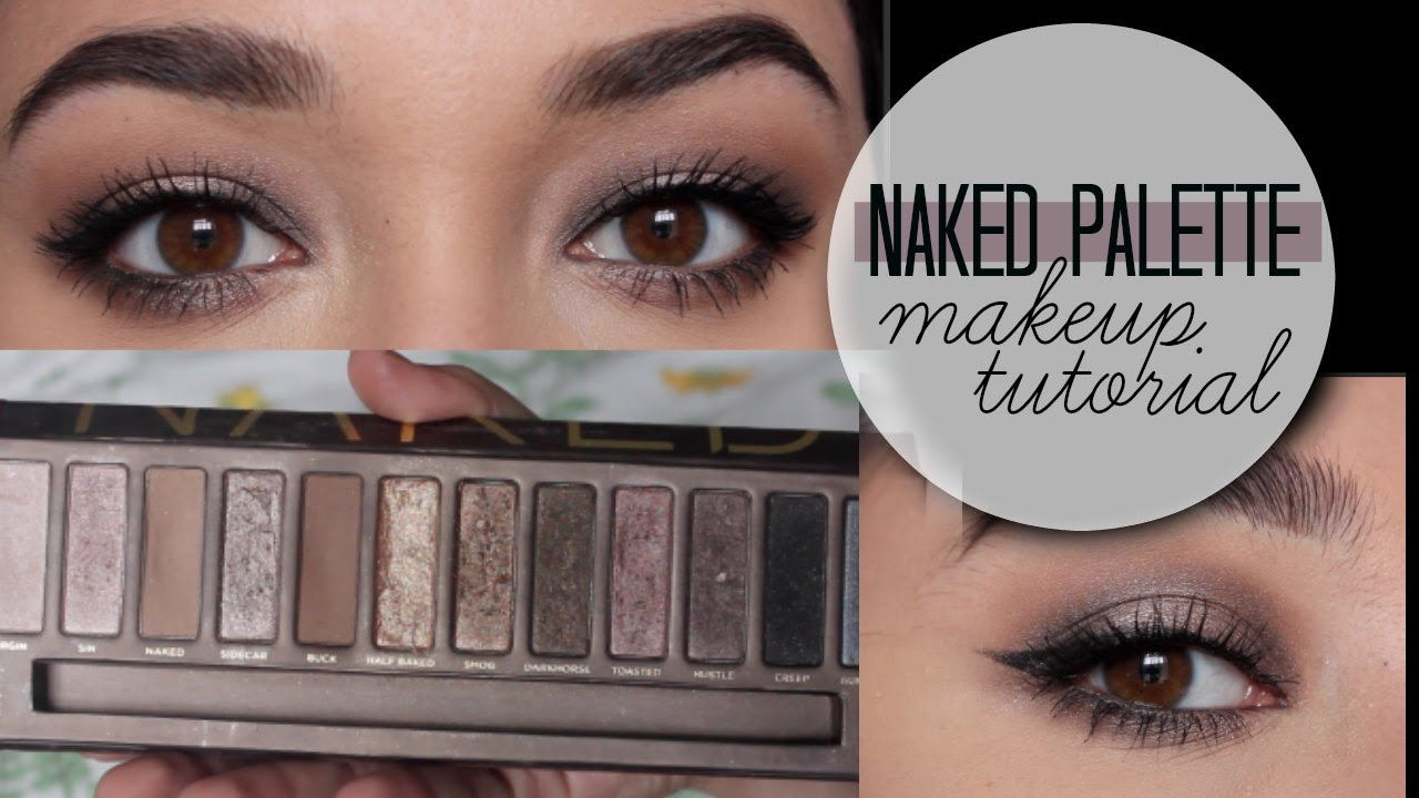 Fabuleux Naked 1 Palette Makeup Tutorial - YouTube UX57