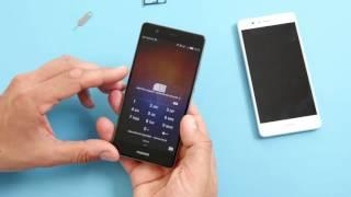 Huawei P9 / P9 lite: nanoSIM, Dual-SIM & microSD einlegen (deutsch)