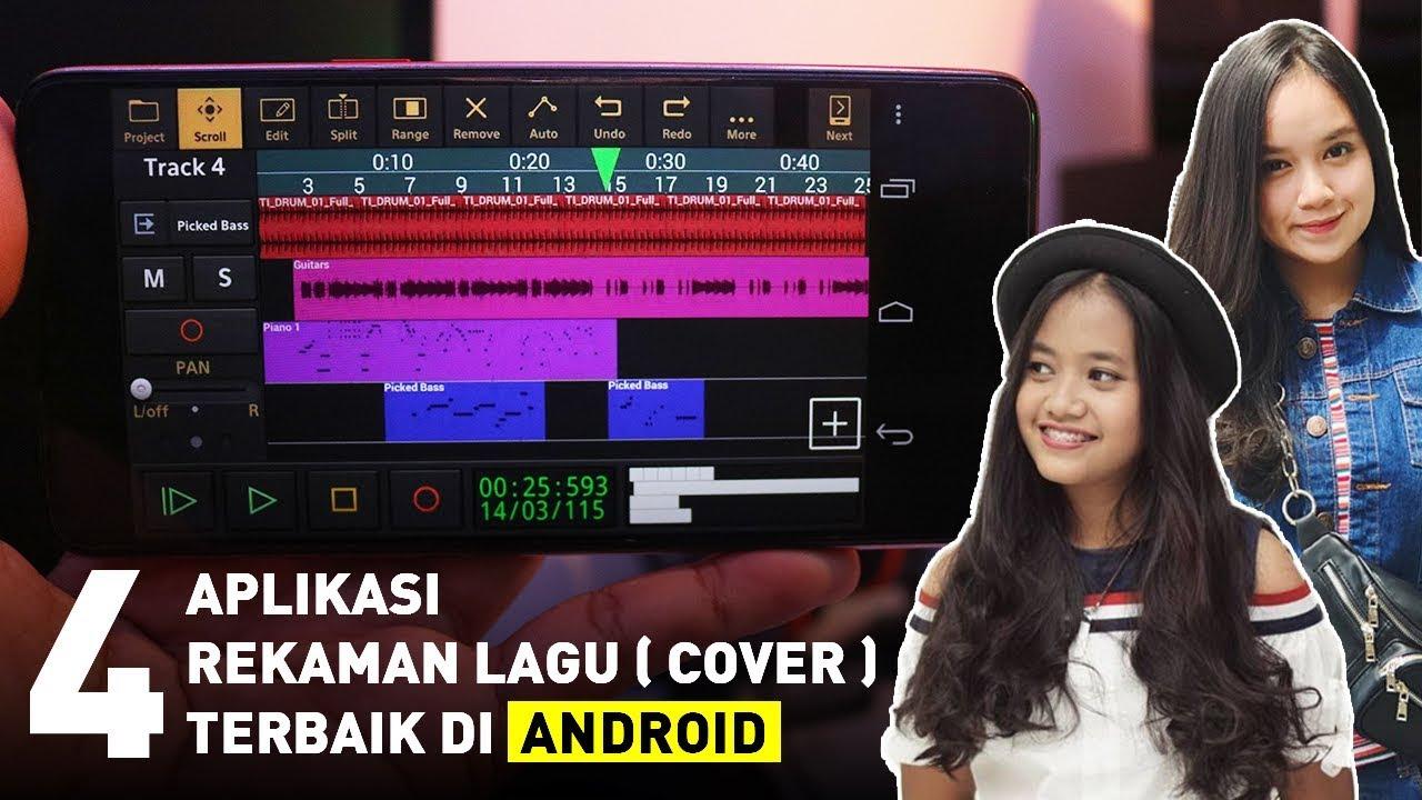 4 Aplikasi Untuk Rekaman Cover Lagu di HP ANDROID Terbaik - YouTube