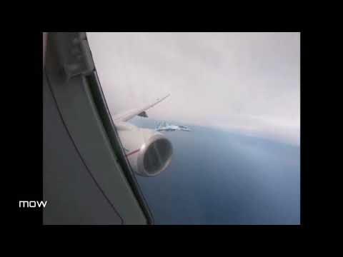 Два самолёта ВКС России заблокировали патрульный самолёт Boeing P-8A