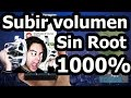 Subir Volumen Android 1000% Sin Root Tutorial en Español