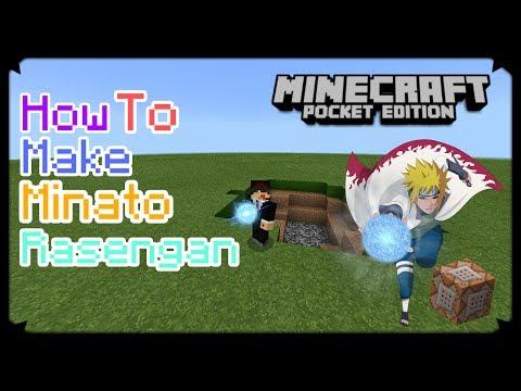 HOW TO MAKE MINATO RASENGAN IN MCPE   Minecraft PE