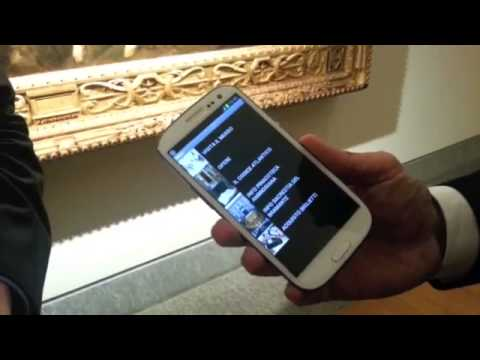 MOBILE PEOPLE ITALIA shows NFC at Pinacoteca Ambrosiana Art Gallery (Leonardo da VInci artworks)