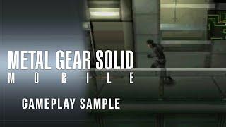 Metal Gear Solid Moḃile - Gameplay Sample - Nokia N-Gage Platform