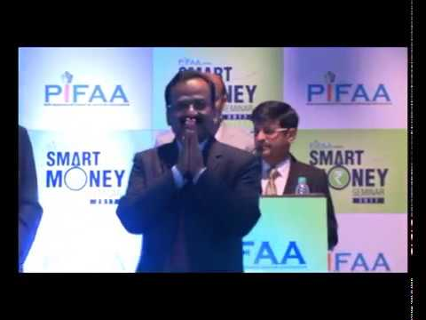 Lecture on smart investments by Mr Swaroop Mohanti at SMART MONEY SEMINAR organised by PIFAA