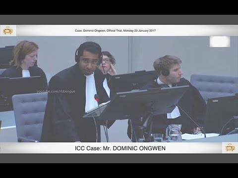 (PART 1) Dominic Ongwen Official Trial: 23 January 2016