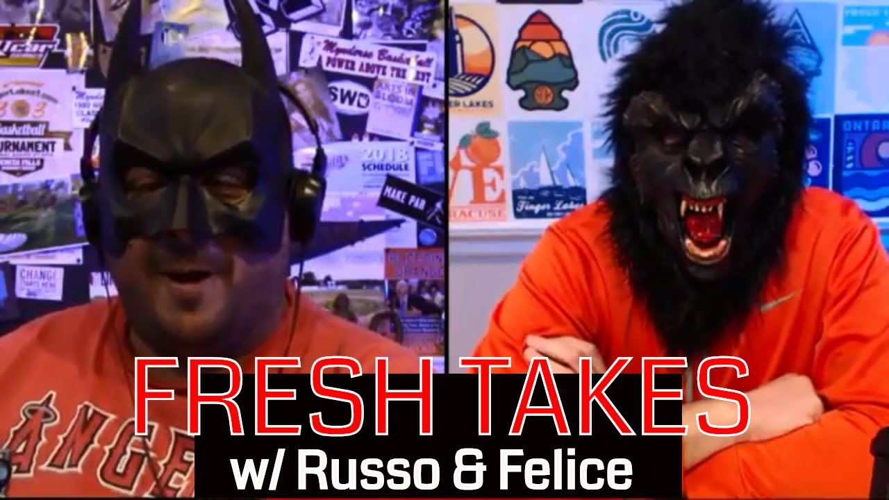 Halloween monsters & Halloween movies .::. Fresh Takes w/ Russo & Felice 10/30/18