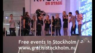 Idol 2009 Allstars - I Wish Everyday Could Be Like Christmas, Live at Kfem, Välllingby C