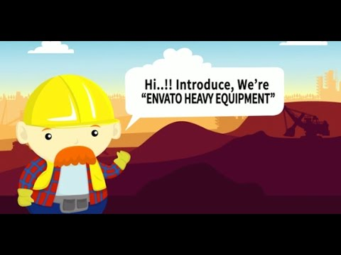 Construction Company Profile Cartoon Animated | After Effects template