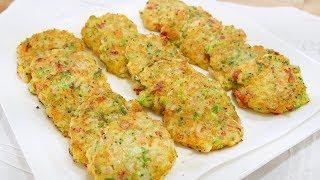 새우전 ( Shrimp Pancakes )
