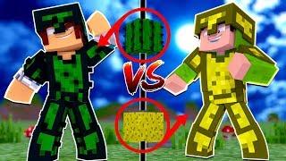 Minecraft: ARMADURA DE CACTO VS ARMADURA DE ESPONJA !!