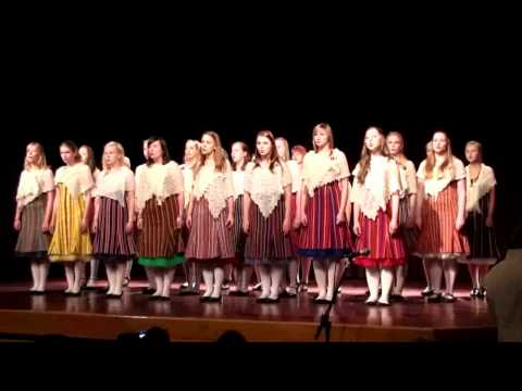 Veljo Tormis: Sampo tagumine - Estonian TV Girls Choir, Tallinn, Estonia
