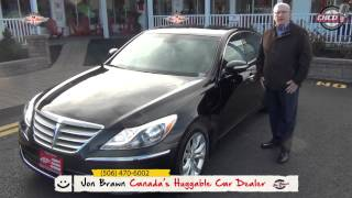 John Wride, 2013 Hyundai Genesis,  Wheels and Deals Fredericton