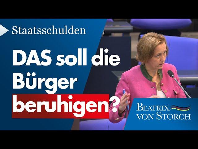 Beatrix von Storch (AfD) - Will die Regierung wirklich so weitermachen?
