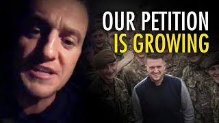 Tommy Robinson: Our petition defending British soldiers is growing!