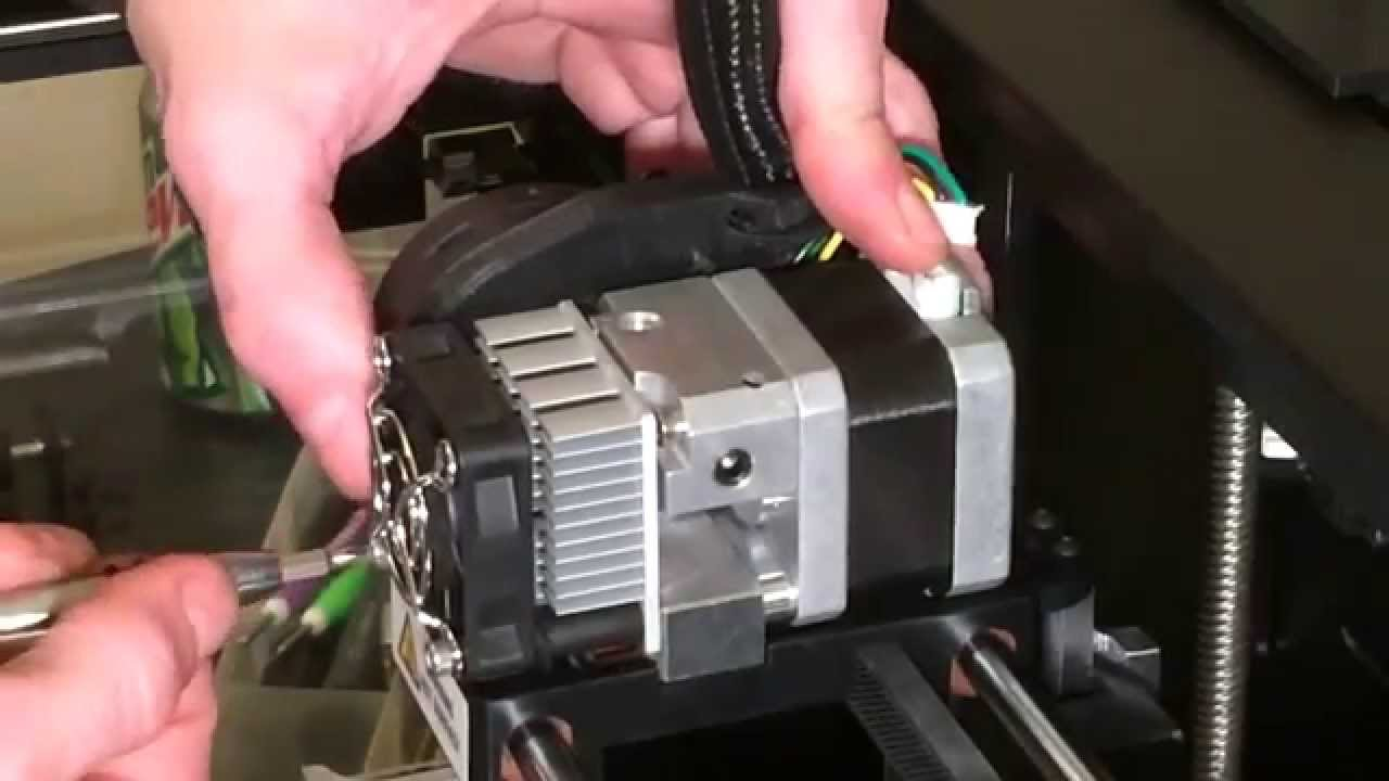 Installing the 3in1 Extruder Replicator 2/2X