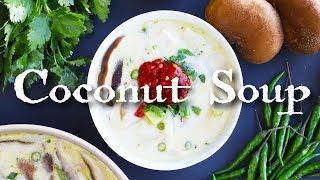 Vegan Thai Coconut Soup (Vegan Tom Ka Kai)