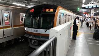 東京メトロ10000系 菊名駅発車