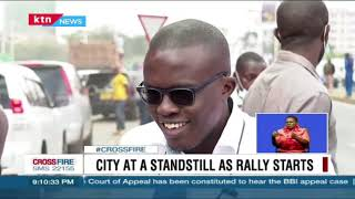 City at a standstill as Safari rally kickstarts enthusiasts line up along roads to catch a glimpse