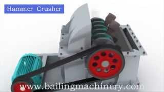 2014 New Type Hammer Crusher Made by Henan Bailing Machinery Co., Ltd.