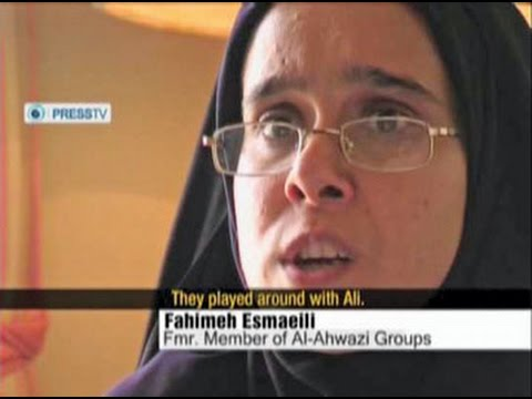 Forced Confession by Female Ahwazi Arab Prisoner on Press TV