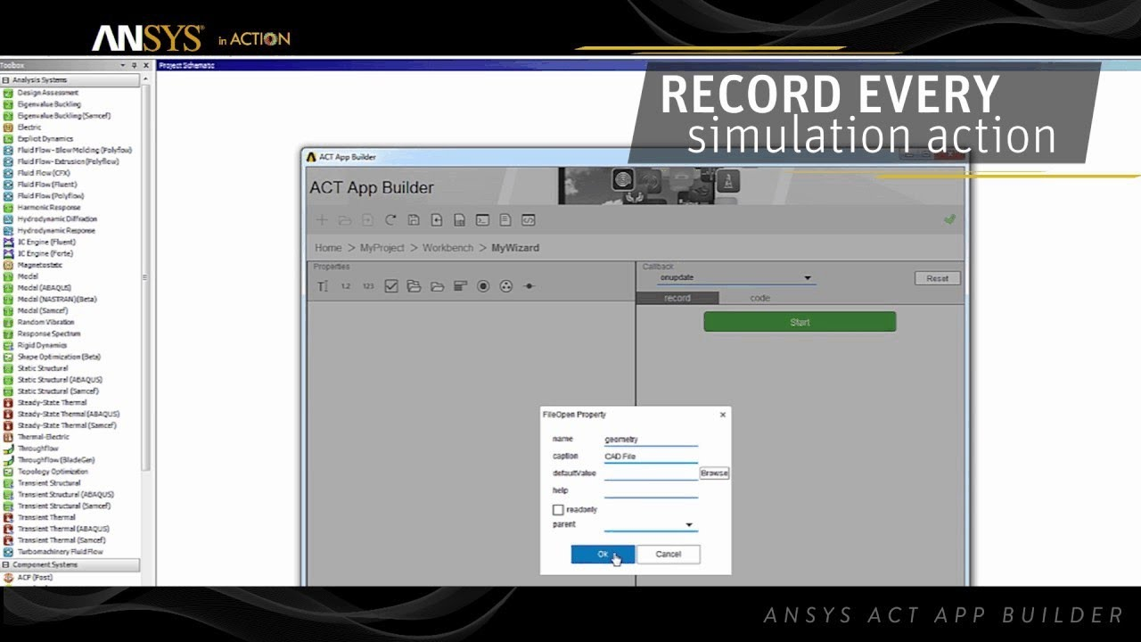 ANSYS in Action - ANSYS App Builder