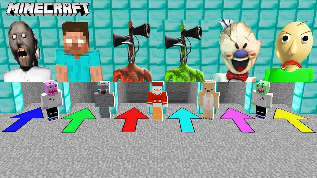 Download WÄHLST DU DIE FALSCHE KILLER HÖHLE, STIRBST DU in Minecraft!