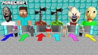 WÄHLST DU DIE FALŠCHE KILLER HÖHLE, STIRBST DU in Minecraft!