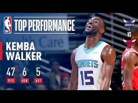 Kemba Walker Scores 47 Points vs. Bulls | November 17, 2017