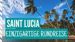 Die Insel Saint Lucia in der Karibik • Einzigartige Rundreise • Visual Vibes