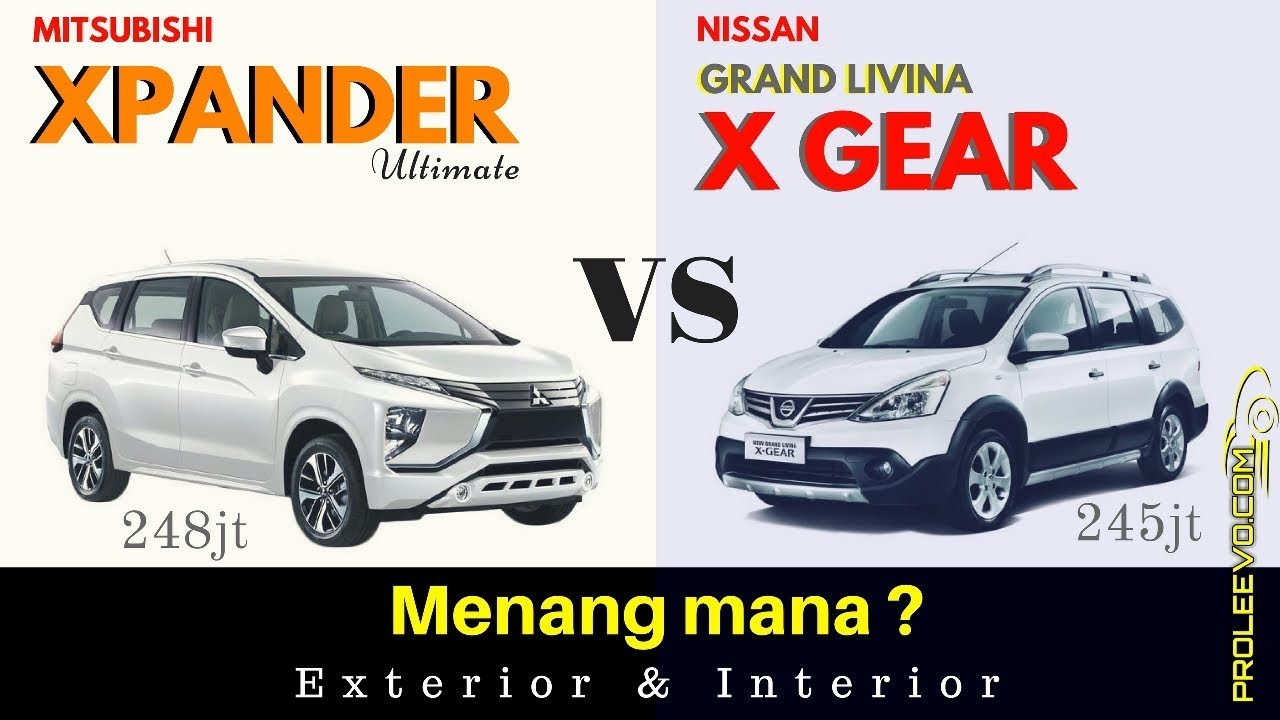 Xpander Ultimate VS Xgear Matic Exterior Interior Proleevo