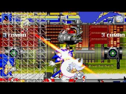 AN Mugen Request #863: Sonic.exe,Sonic,SuperSonic,MetalSonic VS HyperSonic,WereSonic,Sanic,DarkSonic