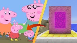 VISITANDO LA CASA DE PEPPA PIG EN MINECRAFT | DIMENSIONES #3