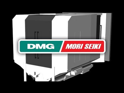 DMG MORI NH6300 Machine Tool CNC Simulation with NCSIMUL